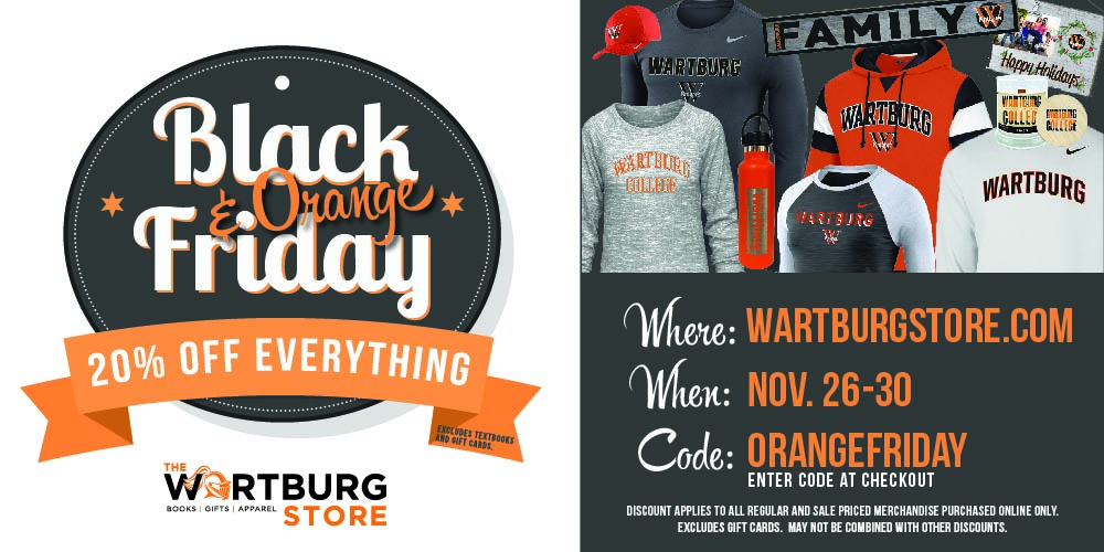 Black and Orange Sale