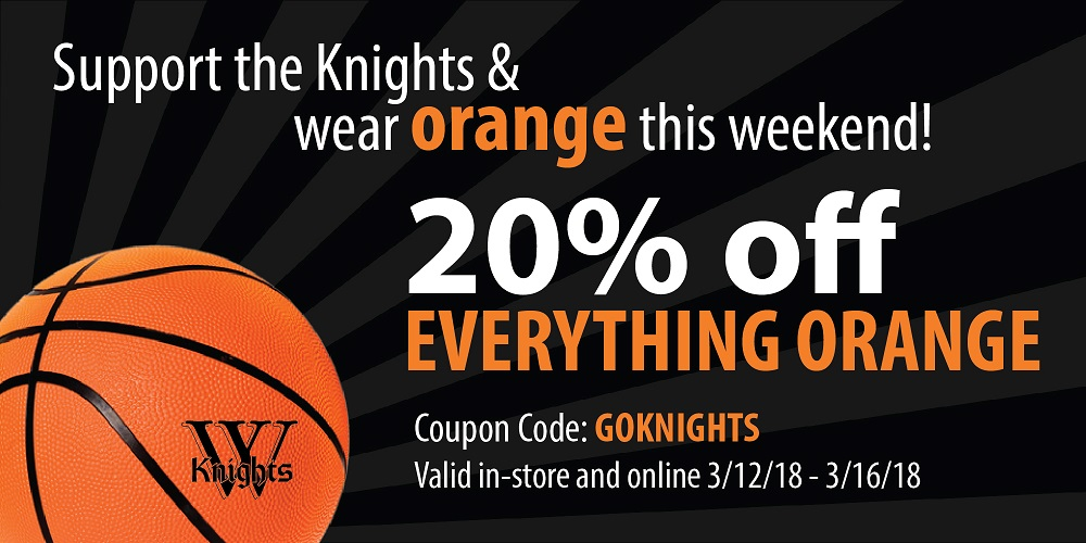 20% off Orange Sale