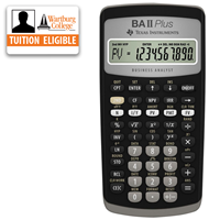 TI BA II Plus Financial Calculator