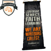 Wall Decor: Wartburg Pillars Banner