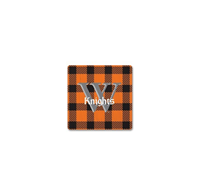Magnet: Buffalo Plaid