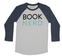 Book Nerd 3/4 Sleeve Raglan