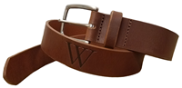 Alpha Men's Leather Belt