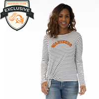 Tara Long Sleeve Stripe Top