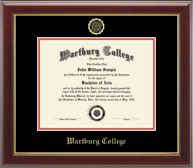 Diploma Frame: Gold Embossed College Seal (SKU 102838687)