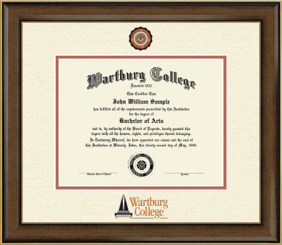 Diploma Frame: Dimensions Color College Seal (SKU 103122927)