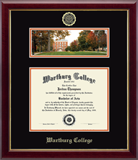 Diploma Frame: Campus Panoramic