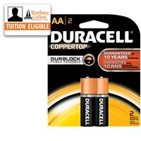 Batteries: Duracell AA