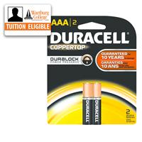 Batteries: Duracell AAA