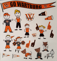 Decal: Wartburg Family