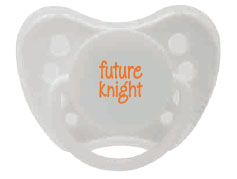 Future Knight Pacifier (SKU 911190181103)