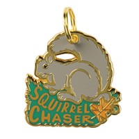 Collar Charm: Squirrel Chaser