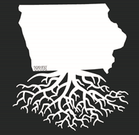 Iowa Roots Decal