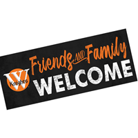 Wall Decor: Friends & Family Welcome
