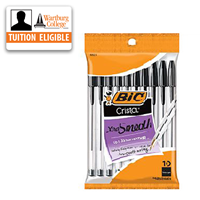 Pens: Bic Crystal Ball 10/pk