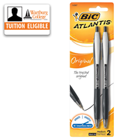 Pens: Bic Atlantis Retractable 2/pk