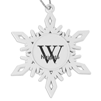 Ornament: Pewter Snowflake