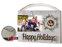 Happy Holidays Clip-It Photo Frame