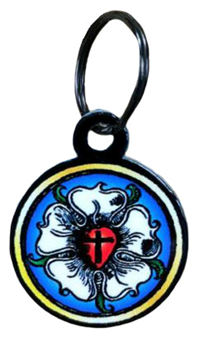 Key Ring: Luther Rose