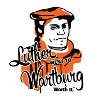 Luther Went to Wartburg Sticker