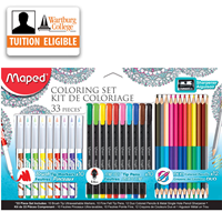 Markers: Coloring Set 33/pk