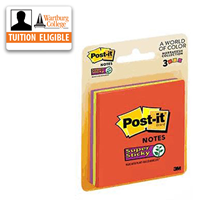 Post-it Notes: 3x3 Super Sticky
