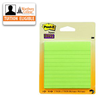 Post-it Notes: 4x4 Ruled