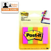 "Post-it Page Markers 1/2"" x 2"