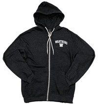 Retro Heather Full Zip Hood