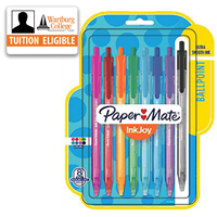 Pens: InkJoy Retractable 8/pk