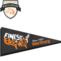 Canvas Pennant: Finest in East/West