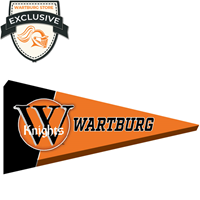 Canvas Pennant: Wartburg Knights