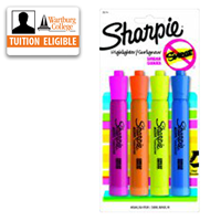 Highlighter: Sharpie 4/pk