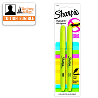 Highlighter: Sharpie Pocket 2/pk