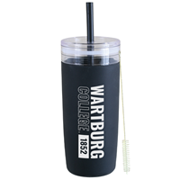 Silicone Tumbler with Straw