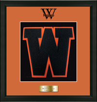 Wall Decor: Varsity Letter Frame