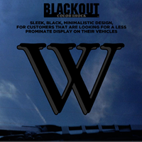 Decal: Blackout