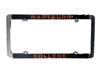 License Plate Frame: Wartburg College